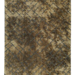 TAPPETO MODERNO LIGHTENING-BROWN N° 134264 mis 230x160