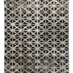 Tappeto moderno black N° 134285 mis 230x160 Atelier D'Oriente Palermo