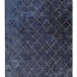 TAPPETO MODERNO BLUE N° 134289 mis 230x160 ATELIER D'ORIENTE PALERMO