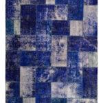 Tappeto Patchwork Blue mis 239x168 Atelier D'Oriente palermo