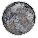 Tappeto Moderno Velve rotondo Grey/blue 1,50
