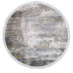 Tappeto Moderno Rotondo Velve Grey 1,20 M