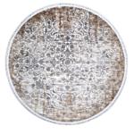 Tappeto Moderno Velve rotondo Grey/Beige 1,50